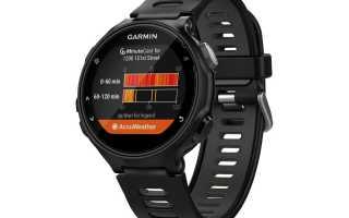Обзор смарт-часов Garmin Forerunner 735XT