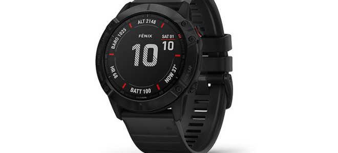 Обзор смарт часов Garmin Fenix 6X Pro Solar