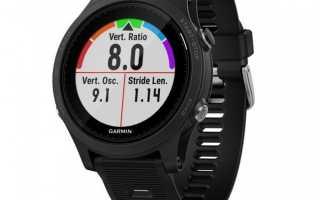 Подробный обзор умных часов Garmin Forerunner 935