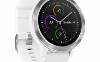 Обзор умных часов Garmin Vivoactive 3