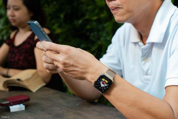 Аpple watch series 4 просмотр фото