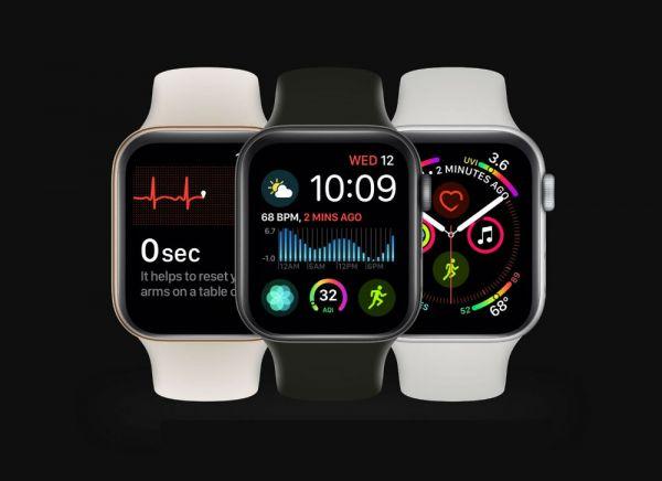 Apple Watch Series интерфейс
