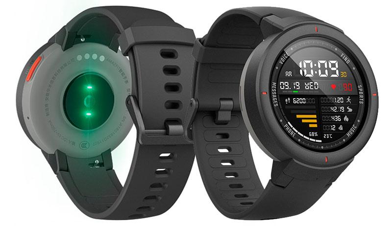 Дизайн умных часов Xiaomi Amazfit Verge International