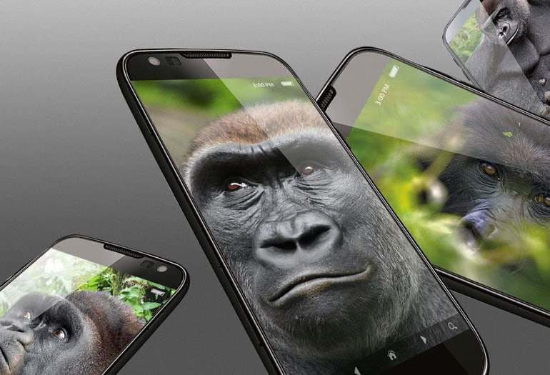 Защитное стекло Gorilla Glass Dx+